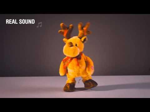 Tanzende und singende Weihnachtspuppe versandkostenfrei als ...
