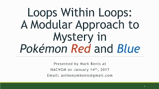 Download Lagu Loops Within Loops: A Modular Approach to Mystery in Pokemon Red and Blue Mp3