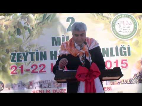 2 Milas Zeytin Hasat Şenliği açılışı