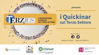 17 marzo 2021 La fiscalità di Ets e Onlus prima e dopo il Runts - Gabriele Sepio