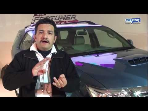 Auto Expo 2012: New Toyota Fortuner video review of D4D 2WD Automatic by CarToq.com