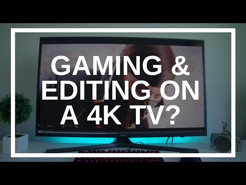 Video Editing and PC Gaming on a 40