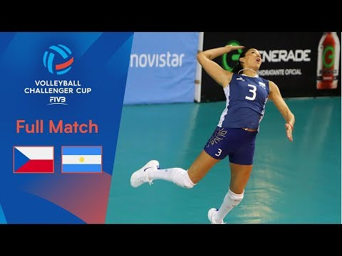 CZECH REPUBLIC Vs. ARGENTINA | Full Semi-Final | 2019 FIVB Women's Volleyball Challenger Cup