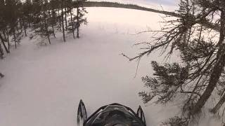10. Skidoo Expedition in the Deep Powder