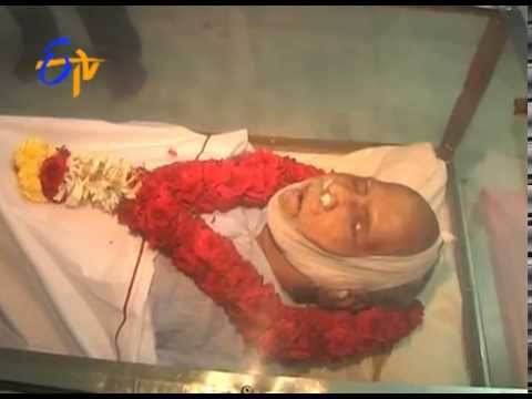 dies - The Bapu who took Tollywood places dies at age 80.