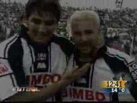 Gol de Antonio Mohamed