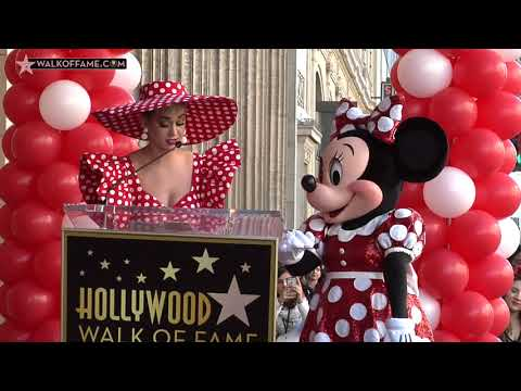 Minnie Mouse Walk of Fame Ceremony