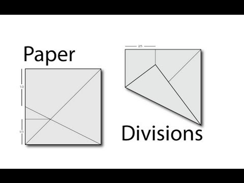 Tip 40 - Paper Divisions (fifths, thirds, sevenths, etc...)
