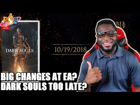 Dark Souls Switch Dated, but is it TOO LATE? & Soderland Leaves EA, Big Changes Incoming? | PE NewZ