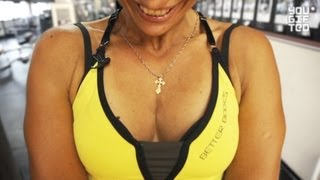 Фитнес. Тренировка груди и спины. Зина Руденко.