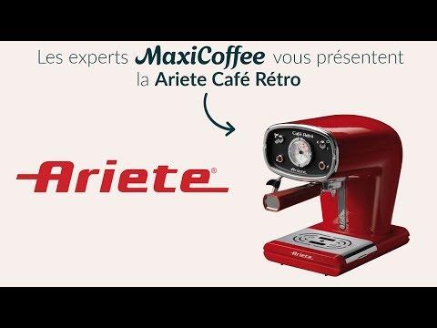 Présentation de la Ariete New Café Retro