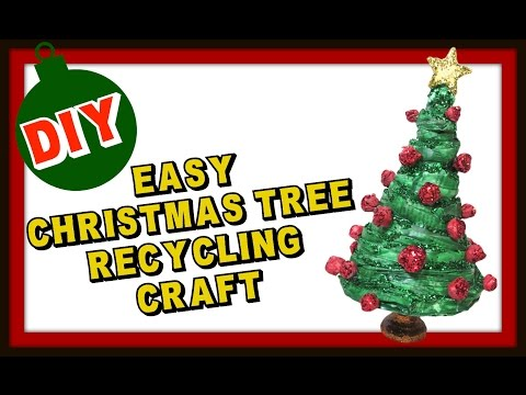 Easy Newspaper Christmas Tree