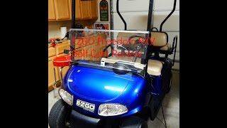 9. 2011 EZGO Freedom RXV 2+2 Golf Cart Review
