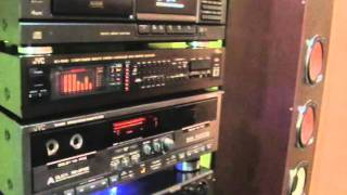 Download Lagu JVC TD-W805 stereo double cassette deck. Mp3