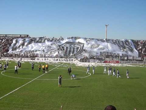 TELON ESTUDIANTES VS. ALMAGRO - LA BARRA DE CASEROS - La Barra de Caseros - Club Atlético Estudiantes