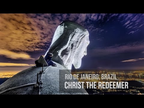 Urban Explorers Climb the Massive Christ the Redeemer Statue in Rio de Janeiro