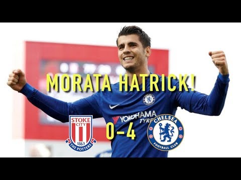 MORATA HAT-TRICK!! || STOKE 0-4 CHELSEA || MATCH REVIEW