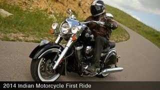 5. 2014 Indian Chieftain First Ride - MotoUSA