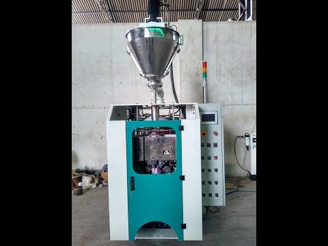 Automatic Collar Type Auger Filling Pouch Packing Machine
