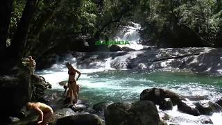 Bramston Beach Australia  City new picture : 2014 Australia Josephine Falls near Babinda