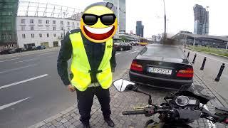 Policjant kontra motocyklista. Zatrzymanie które niektórych może zdziwić