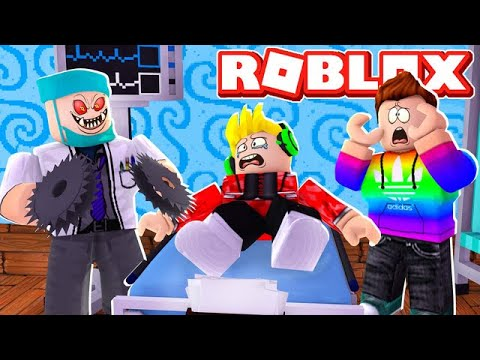 We Must Escape EVIL Hospital Obby NOW In Roblox