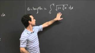 Arc Length Of Y=x^(2/3) | MIT 18.01SC Single Variable Calculus, Fall 2010