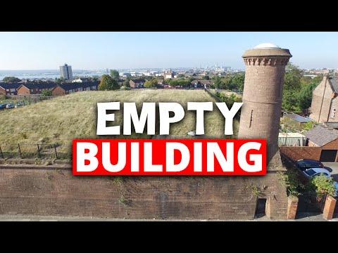 Exploring an empty building