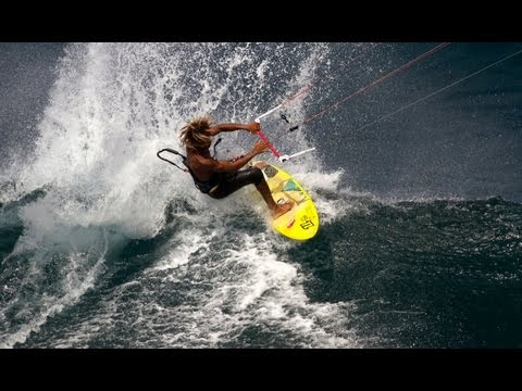 Kitesurfing - Click CC for Subtitles! Next Episode: http://youtu.be/odlQA2mTEzM After winning the 2011 Kitesurf Wave World Championship, Airton Cozzolino is setting his si...