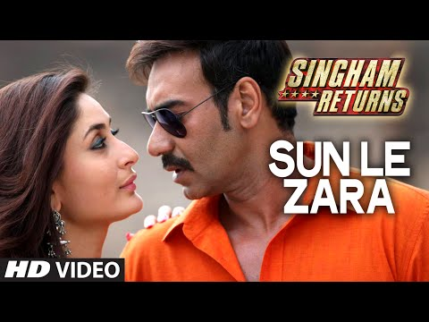 Sun Le Zara Video Song - Singham Returns - Ajay Devgn...