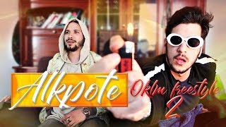 REACTION - ALKPOTE - OKLM Freestyle Part. 2 (Prod by Young SkeyMa )