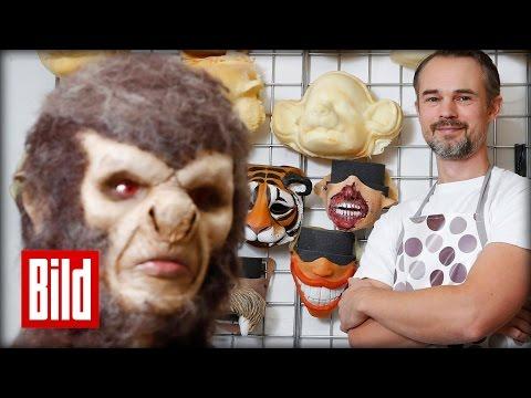 Frauenarzt macht Latex-Masken - No Horror-Clowns!