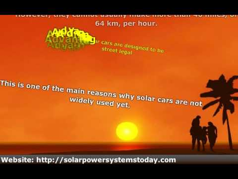 Pros And Cons Of Solar Power Cars