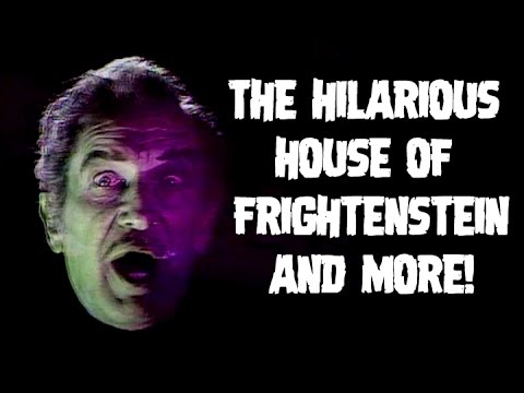 The Fantastic Films of Vincent Price #72 - The Hilarious House of Frightenstein