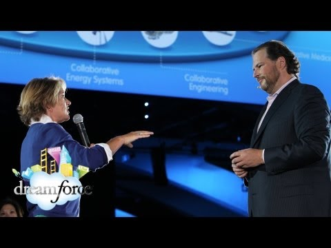 Dreamforce - General Electric shares a vision where its tools for sales, customer service and product development our connected across salesforce.com's mobile and social ...