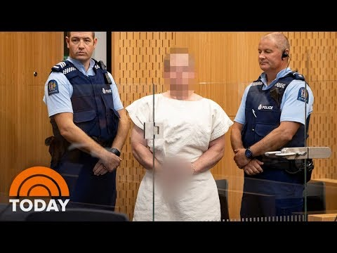 New Zealand Mosque Shooting: Suspect Makes First Court Appearance | TODAY