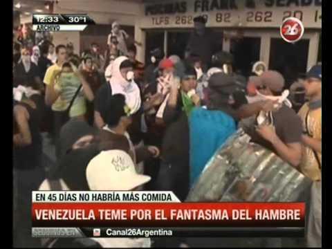 Canal 26 – Venezuela sin comida
