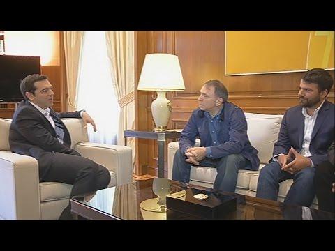 Συνάντηση Α. Τσίπρα με τους βραβευμένους με Πούλιτζερ Έλληνες φωτορεπόρτερ