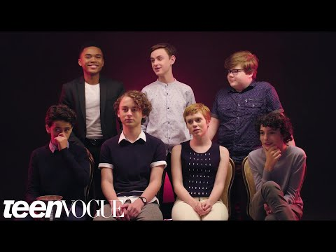 "The Cast of ""It"" Rates Everyday Scary Things 