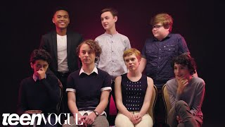"Video The Cast of ""It"" Rates Everyday Scary Things 