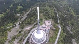 Liberec Czech Republic  City pictures : DJI PHANTOM 4 - Ješted/Liberec/CzechRepublic