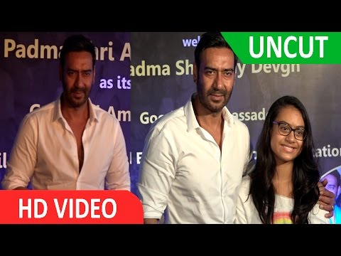 UNCUT | Smile Foundation | Press Conference | Special Announcement | Padmashree | Ajay Devgn