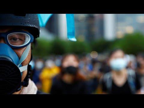 China: Hongkonger Proteste halten nach gewaltsamen Wochenende weiter an