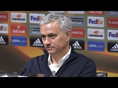 Jose Mourinho Full Pre-Match Press Conference - Burnley v Manchester United (видео)