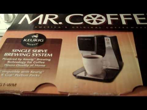 Keurig Mr Coffee Single Serve Review