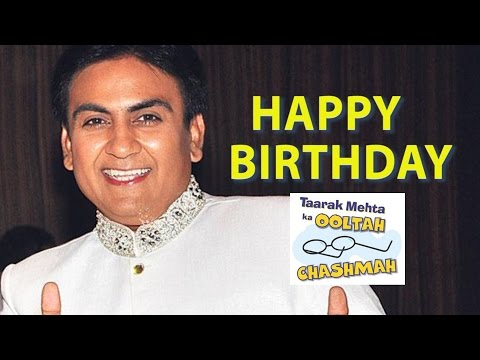 Dilip Joshi Aka Jethalal's Birthday Today | Happy