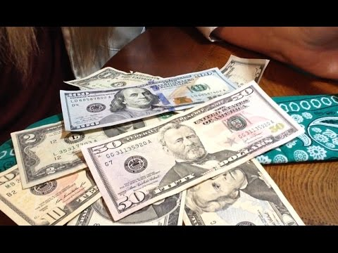 United States Paper Currency 💵 Chewing Gum, Soft Spoken, Brief Info, Crinkling Money, ASMR