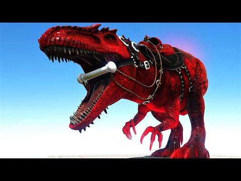 The Ultimate Dinosaur, ALPHA GIGA !!! ARK Survival Evolved MODDED E35