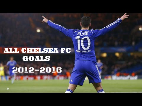 Eden Hazard || ALL Chelsea FC Goals || 2012-2016 || HD