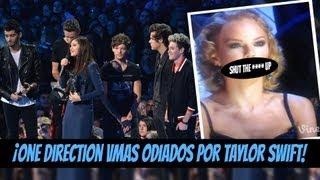 ¡One Direction VMAs Odiados Por Taylor Pero Ganaron!!